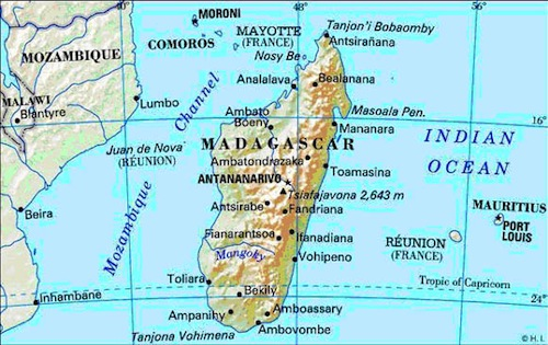 Oro en Madagascar un pedazo de África que se parece a Asia