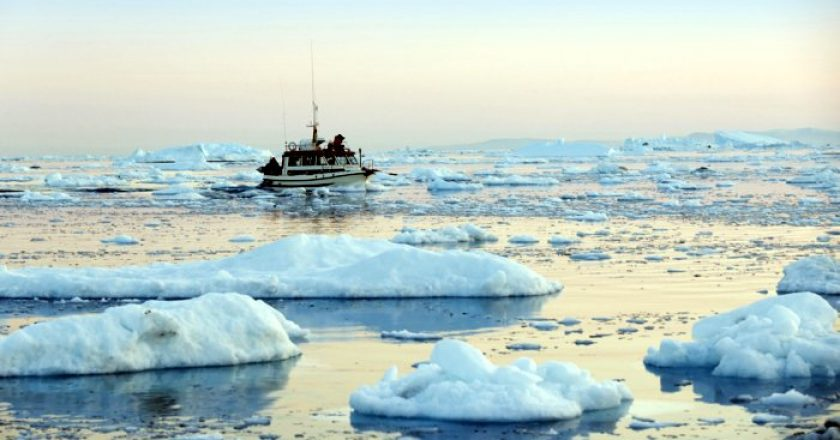 El hielo ártico que desaparece abre el camino al gas natural