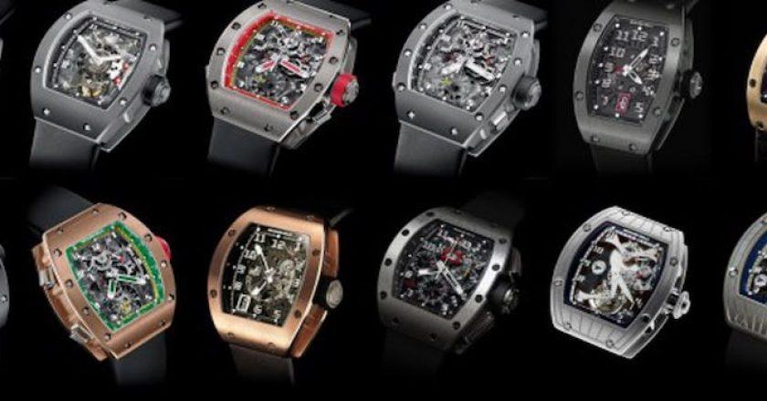 Los 10 relojes más caros de Richard Mille