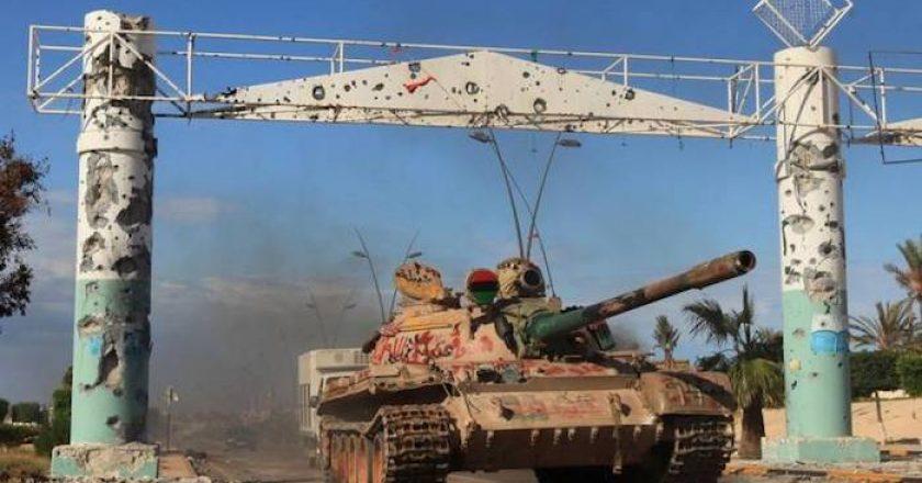 La guerra por el control del petróleo en Libia