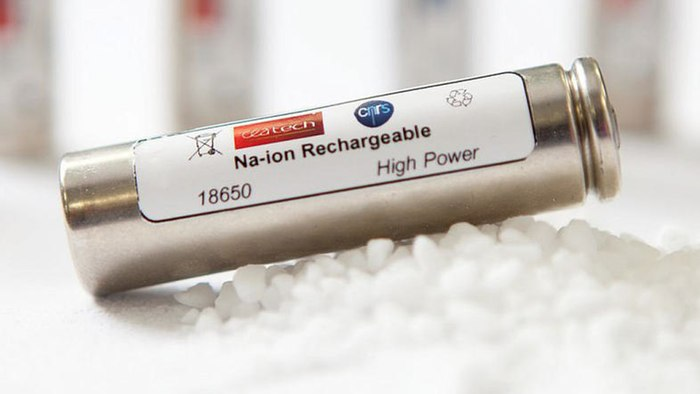 Agua de mar para energía: baterías de sodio