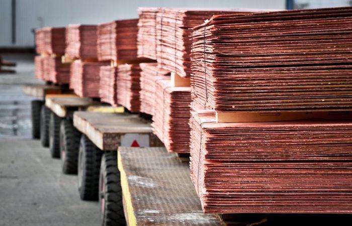 En las minas de cobre, la producción cae un 2,2 por ciento
