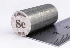El escandio, un metal raro con precios misteriosos