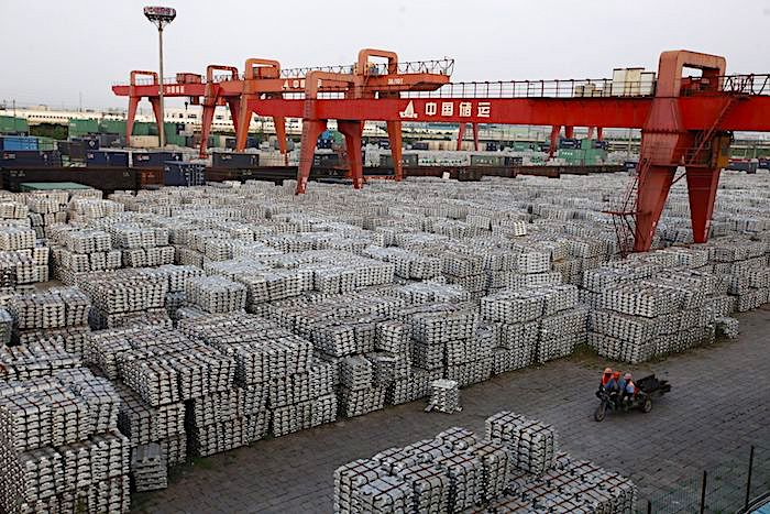 Demanda de plomo y zinc en caída libre: -6,5 por ciento y -5,3 por ciento