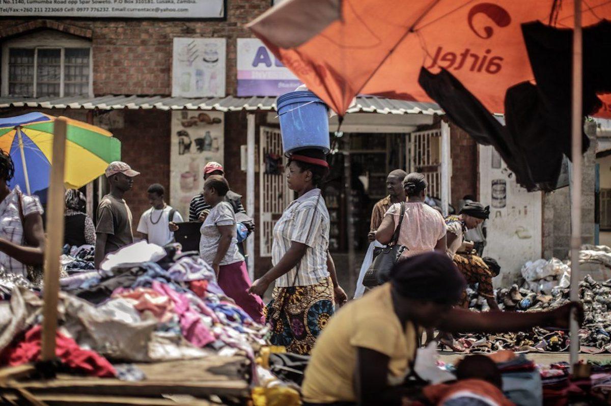 Pandemia y colapso de las commodities golpearon a África. Zambia en default