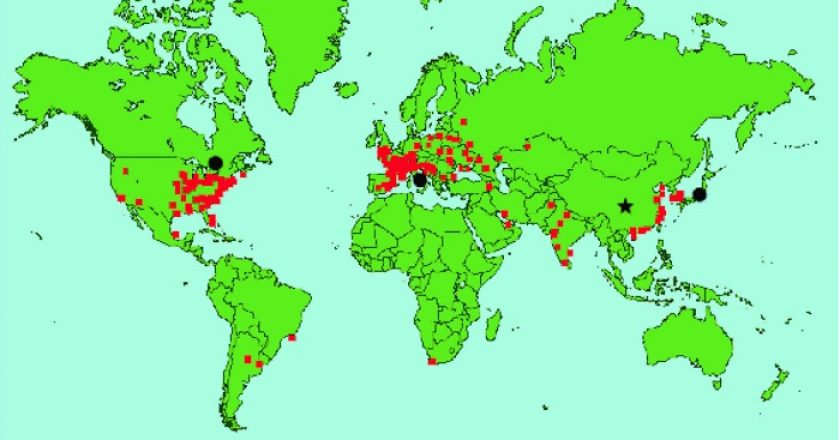 Energía atómica en el mundo: el mapa de los reactores nucleares