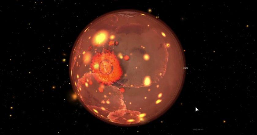 Volcanes que hacen erupción de metal. ¿Podremos observarlos?