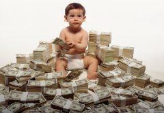 Hay quienes nacen ricos y famosos, como los 8 niños más ricos del mundo