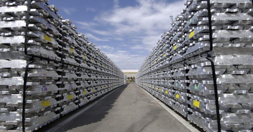 Aluminio: la producción crece, mientras que los premios también aumentan