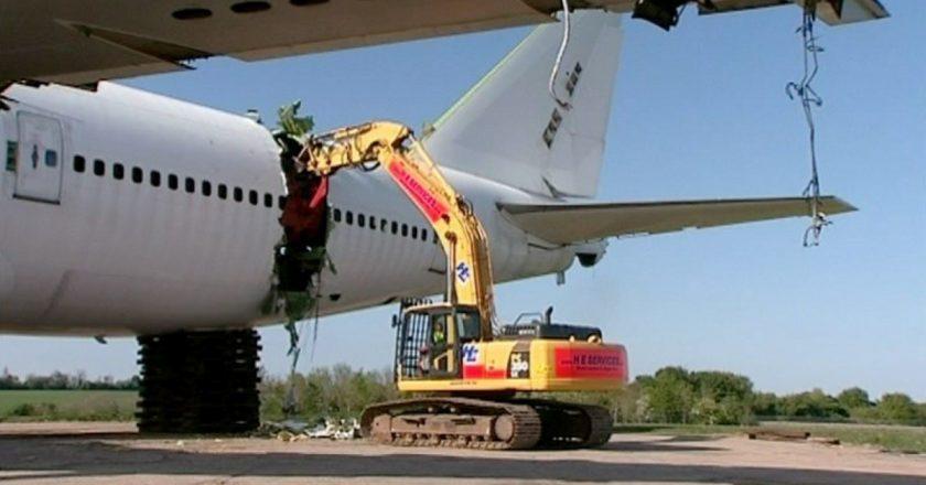 La pandemia ha destruido el mercado de repuestos usados y chatarra de aviones