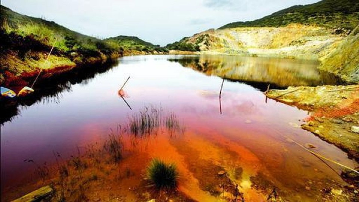 La última mina de oro de Cerdeña, una lección para recordar