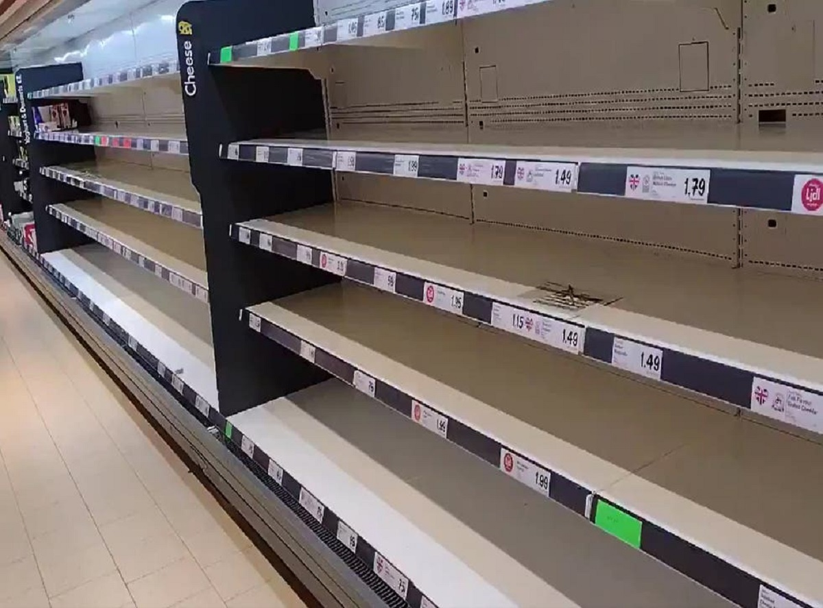 Alarma de cadena de suministro. Si la oferta colapsa, la economía colapsa