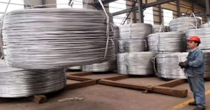 Casi 2 años que no sucedió: la producción china de aluminio disminuye