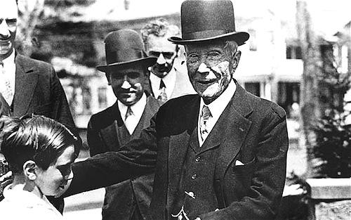 John D. Rockefeller, rival de Tío Rico